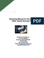BSP99M Manual