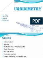 Turbidimetry
