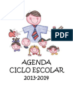 Agenda Ciclo Escolar 2013-2014