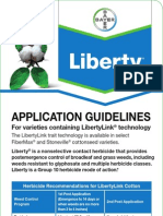 Liberty Herbicide - Cotton Product Guide 2012