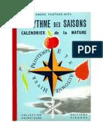 Jeux 14 AU RYTME DES SAISONS Calendrier de La Nature