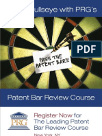 PRG August 2013 Bar Review Course Mailing