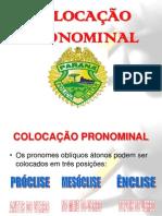 Prof. Kito Lima - PORTUGUES - COLOCAÇÃO PRONOMINAL