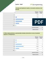 Staff survey results, 2013