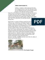 46891064 History of Wing Chun Kung Fu