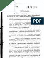 Acta Secreta Junta Militar (Chile) -Tema, Privatizacion Del Cobre