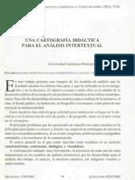 Una Cartografia Didactica Para El Analisis Intertextual - Lauro Zavala