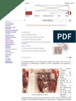 Las Órdenes Militares españolas en la historia
