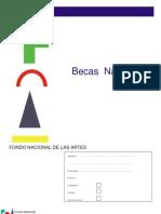 BECA FNA Formulario Inscripción