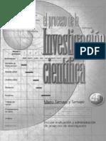 tamayo y tamayo, m. el proceso de investigación científica. méxico. 4a. ed. 2003 (175 pp.)