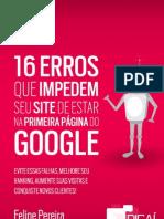 16 Erros de SEO Digai Felipe Pereira