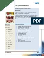 ERP Case study for Food Processsing Enterprise