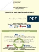 Desarrollo de Kits de Diagnóstico para Neonatos