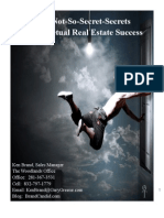"""Not-So-Secret Secrets To Perpetual Success For Real Estate Agents (Read in """"Full Screen"""")"""