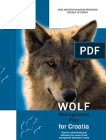 Croatian Wolf Action Plan