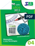 7279313 - Fasciculo 4 - Matematica - Thiago