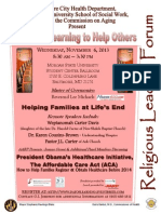 Helping Families at Life's End