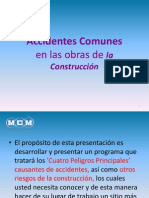 Accidentes Mas Comunes en Obras