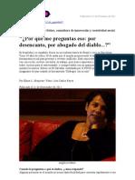Platica Con Angelica Satiro