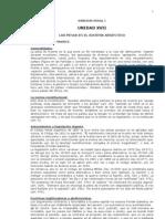 Apuntes Derecho Penal I Parte General (((SISTEMAS de PENAS)))
