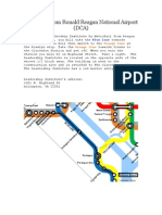 Directions From DCA (Metro)