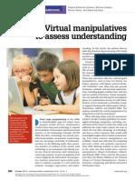 virtual manipulatives nctm article