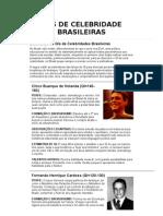 Qi's de Celebridade Brasileiras