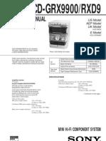 HCD-GRX9900_RXD9