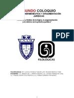 2o COLOQUIO Ret, Herm, Arg juri?dicas (Programa def).doc