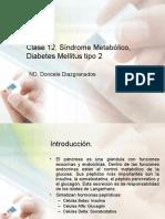 S. Metabólico, Diabetes Mellitus tipo  2