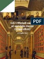 2013 ILARI Gli Ufficiali Sardi Al Servizio Russo 1799-1816