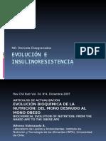 Clase 8. Evolución e Insulinoresistencia