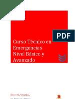 Curso Técnico en Emergencias Nivel Básico y Avanzado