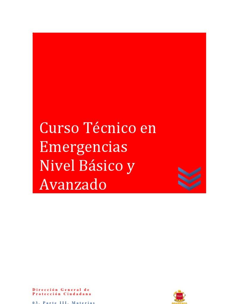 52db45656ad Curso Técnico en Emergencias Nivel Básico y Avanzado