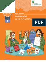 NT1 Guía Didáctica - Lenguaje verbal