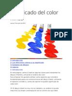 Significado del color niños