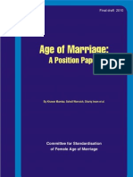 Age of Marriage (PDF)