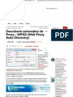 Blog do Nerd » Descoberta automática de Proxy – WPAD (Web Proxy Auto-Discovery)