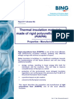 Thermal Insulation Materials Made of Rigid Polyurethane Foam(1)