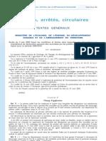 09 Juin 03 Arrete Protocole Loup 2009-2010