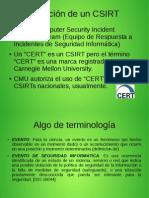 Presentacioncsirt-uss_comite de Seguridad Informatica