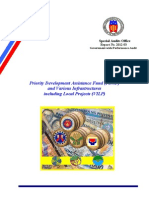Priority Development Assistance Fund Audit