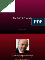 90 10 Principle  for life