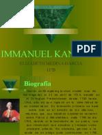 IMMANUEL KANT Elizabeth Medina Garcia 11b