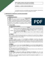 Chapitre 3 - L'Affectation Du Resultat - Cours