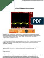 Eletrocardiograma - Monitoramento dos batimentos cardíacos - Saber Eletrônica Online