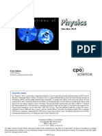 Foundations of Physics - Tom Hsu