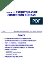 TEMA 03 - ESTRUCTURAS DE CONTENCIÓN RÍGIDAS