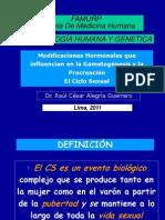 Clase 7 El Ciclo Sexual 27-09-2011