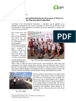 GVI Playa Del Carmen Mexico Monthly Achievement Report July 2013